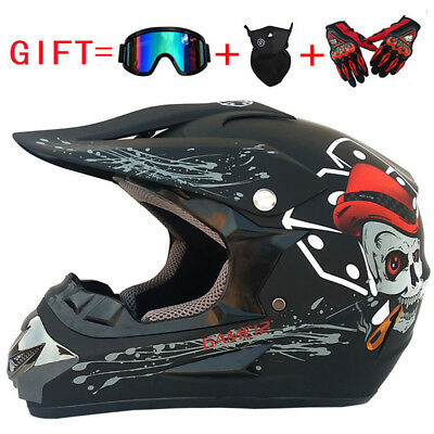 Motorcycle Motocross Off Road Helmet ATV Dirt-Bike Downhill Racing Capacetes BF