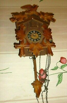 Vintage  Black Forest Cuckoo Clock REGULA West German { to repair }