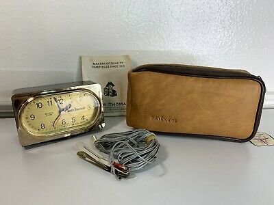 Vintage Seth Thomas Security Alarm Clock 1976 Award