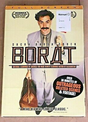 BORAT Sacha Baron Cohen DVD Comedy Movie