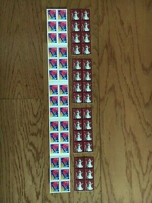 35-Cent Postage Stamp Combos - Enough to Mail 30 Postcards - Face Value $10.50