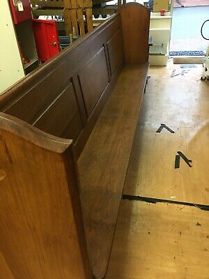 Oak Church Pew