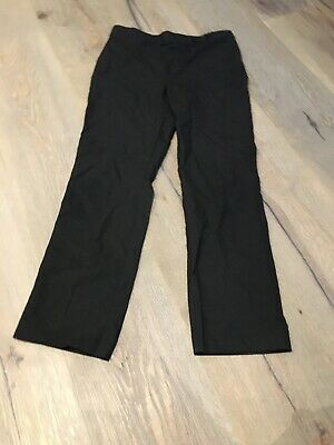 George Girls Black School Trousers Age 10-11