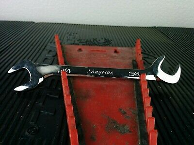 """#af391  Snap-on Tools USA VS24B SAE 4-Way 3/4"""" Angle Head Open-End Wrench"""