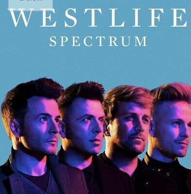 Westlife - Spectrum (2019) BRAND NEW CD