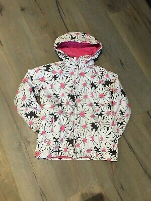 Trespass Girls Floral White And Pink Tp50 Ski Coat Age 9-10