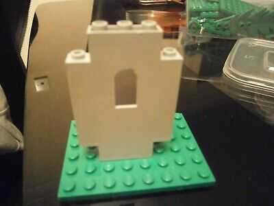 Lego Castle 4444 Good Condition 4 Black Wall Panel 2 x 5 x 6