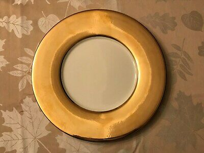 Lenox Eternal Ivory and Gold Charger plates – 12 plates -reduced priced
