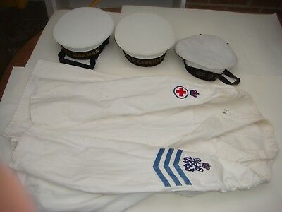 Australian Navy Caps 3 Hat And Jacket Sale As Is Sale Thelot