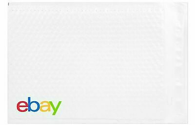 "10 Pack of eBay-Branded Padded Airjacket With Multi-Color Print 8.5"" x 11.25"""