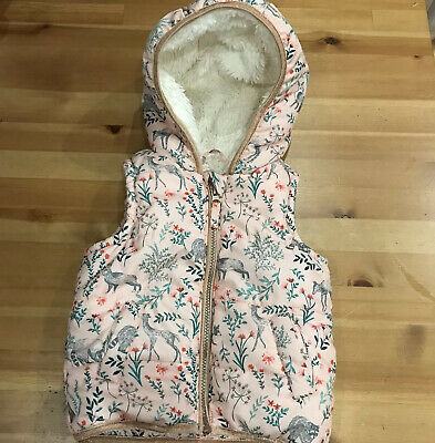 Mantaray Gorgeous Girls Gilet Bodywarmer Age 2-3