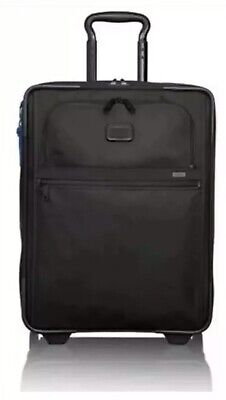 NEW Tumi Alpha 2 Continental EXPANDABLE 2 Wheel Carry-on Suitcase $645 BLUE TAG