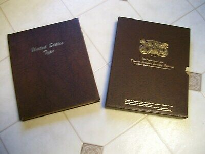 Dansco United States Type Album #7070 5 Pages And Slipcase No Coins