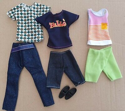 Six Items Of Brand New Clothes  For Ken And Pair Of Shoes,  Same Day  Postage