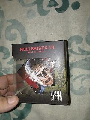 MEZCO Hellraiser 3 Pinhead Puzzle Box Cube with Tracking NEW!!
