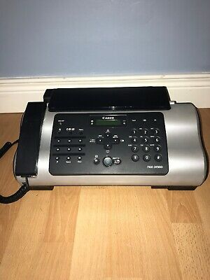 Canon FAX-JX500 Fax Machine With Phone Jx500
