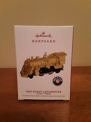 Lionel Train 1001 Scout Locomotive Limited 2019 Hallmark Keepsake Tree Ornament