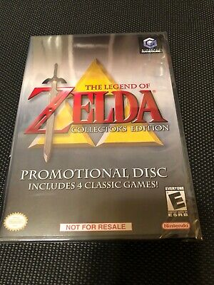 Legend of Zelda Collector's Edition (Nintendo GameCube, 2003) Brand New & Sealed