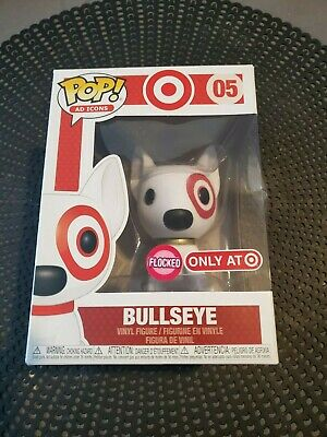 Funko Pop! Ad Icons Bullseye Target sold out gold collar damaged boxes