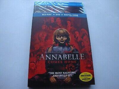 Annabelle Comes Home    *Brand New* w/Slip Cover & Digital   (Blu-ray/DVD,,2019)