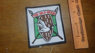THE WILD GEESE  U S ARMY CCC CCS RECON INFANTRY UNKNOWN  PATCH  bx z10