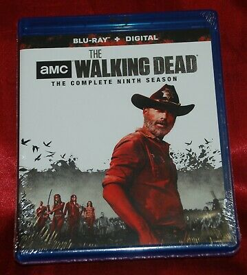 THE WALKING DEAD Season 9 - Official US 5-disc Blu-ray - Factory Sealed!