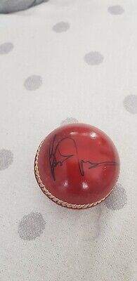Personally Signed Brian Lara (West Indian) Cricket Ball