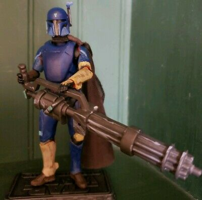 "Star Wars 3.75"" Custom The Mandalorian 'Heavy Gunner, Bounty Hunter' by Rundown"
