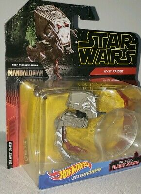 AT-ST RAIDER * STAR WARS THE MANDALORIAN * 2019 Hot Wheels Starships