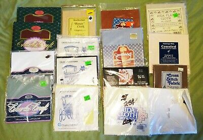 Huge lot of cross stitch material