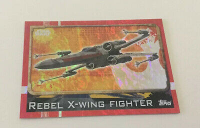 Star Wars Rogue One Foil Card No.172 X-Wing FighterTrading Card