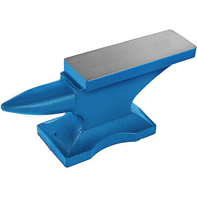 Iron Anvil Blacksmith Single Beck Cast Iron 45KG / 99 LBS With Square Hole 2.1cm