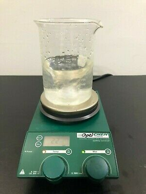 Chemglass Hot Plate Magnetic Stirrer Optichem Stirring Digital Mix Heat WARRANTY