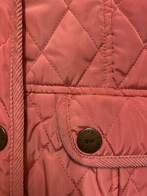 Girls NEXT Pink Quilted/ Padded Coat Age 11-12years