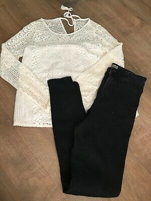 ladies clothes bundle size 6/8 Newlook Zara Miss Selfridge Top Shop H&M 14 Items