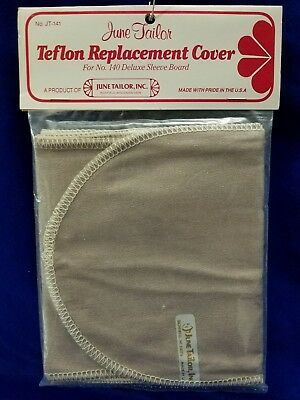 June Tailor TEFLON REPLACEMENT 2 COVER SET JT-141 For No.140 Deluxe Sleeve Board