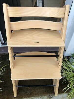 Stokke Tripp Trapp Highchair Excellent Condition 3 Years Old