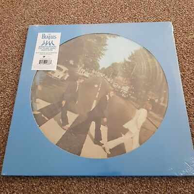 The Beatles Abbey Road Anniversary Picture Disc Limited Edition Sealed New