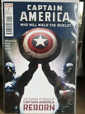 Marvel Captain America #1 : Who Will Wield The Shield?  One Shot 2010 - NM-