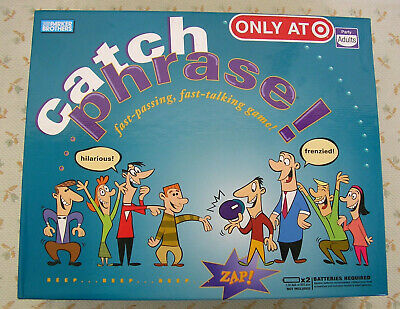 Original CATCH PHRASE Fast Talking Party Game
