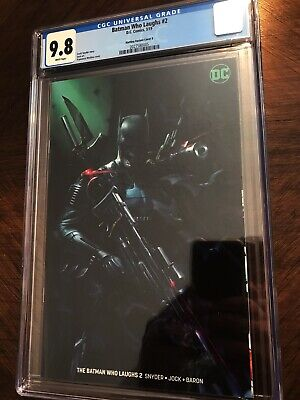 Batman Who Laughs #2 Mattina Virgin Variant CGC 9.8 Grim Knight Gorgeous!