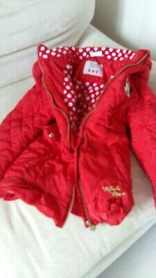 Minnie Mouse Red Girls Coat Disney Age 5/6 Years