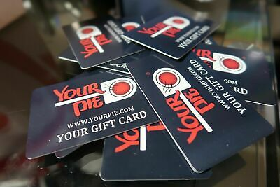 $100 in Your Pie Gift Cards Free Shipping Balances Guaranteed