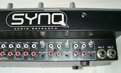 SYNQ Audio Research SMX.1 Professional DJ MIXER ~ Good Working Order