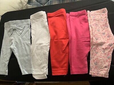 Baby girl leggings bundle 3-6 months, newbie, next, great condition