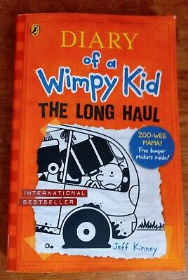 The Long Haul Diary of a Wimpy Kid book 9 by Jeff Kinney Book Christmas Gift