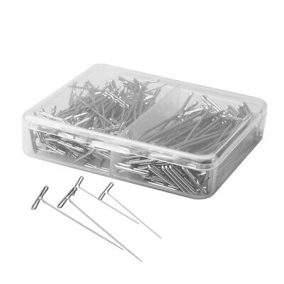 150pcs T Shaped Pins Durable Steel T Pins for Sewing Wig Making Crafts Modelling