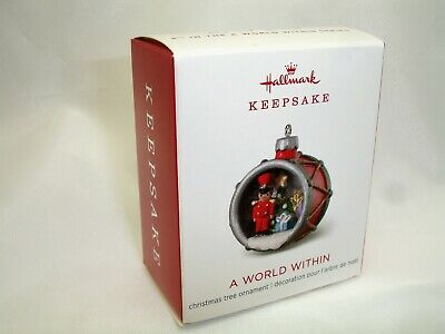 Hallmark 2018 A WORLD WITHIN 4TH in Series Miniature Keepsake Ornament NEW MIB