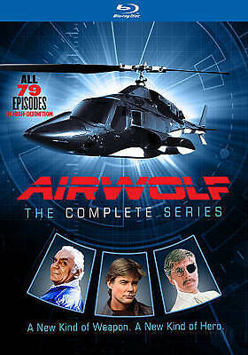 Airwolf: The Complete Series (Blu-ray Disc, 2016, 14-Disc Set) - NEW!!