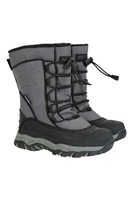 Mountain Warehouse Boys Park Youth Snow Waterproof Boots w/ Isodry membrance